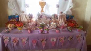 Candybar buffet